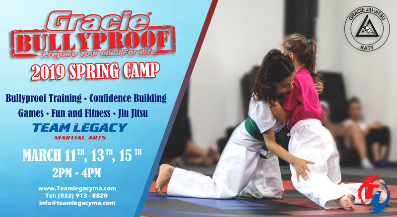 2019 Spring Camps Gracie Bullyproof Training Martial